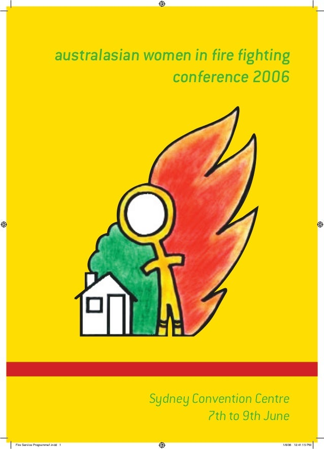 australasian women in fire fighting                                        conference 2006                                ...