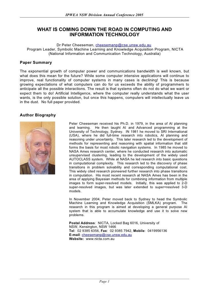 Program Leader Symbolic Machine Learning And Knowledge