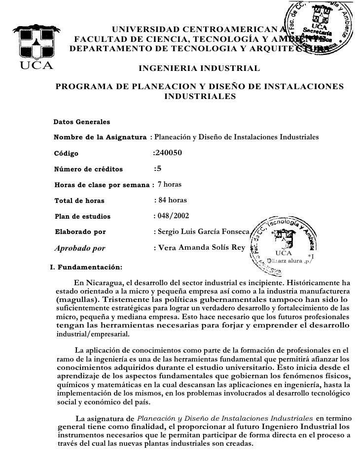 UNIVERSIDAD CENTROAMERICAN           FACULTAD DE CIENCIA, TECNOLOGÍA Y A          DEPARTAMENTO DE TECNOLOGIA Y ARQUITEUCA ...