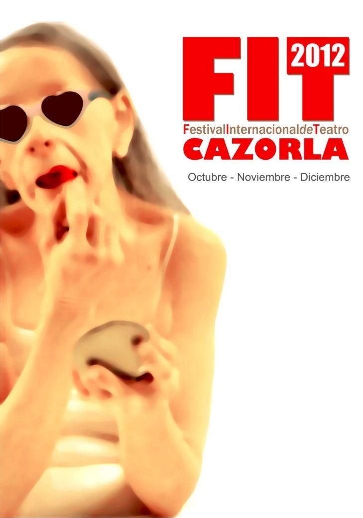 Programa FIT Cazorla 2012