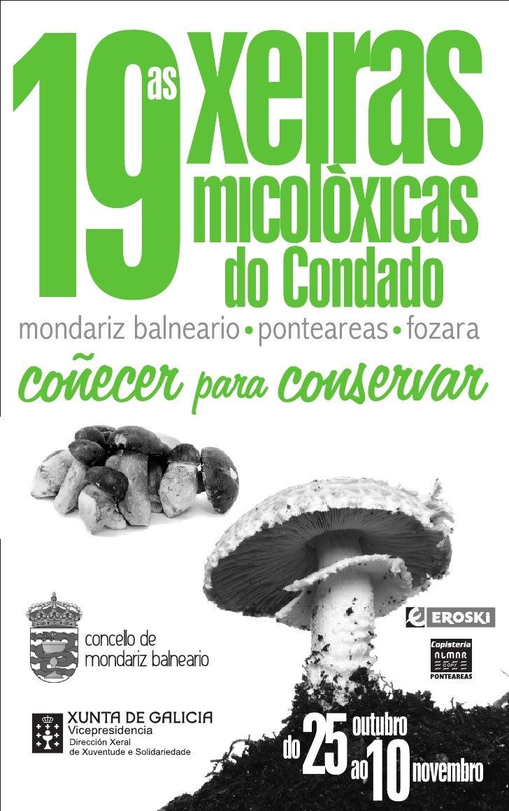 Programa das 19 Xeiras Micolóxicas Condado