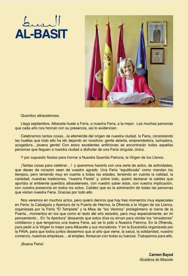 Programa de la Feria de Albacete 2013