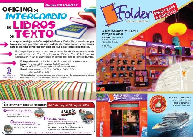 Programa fiestas de torrej n de ardoz 2016 - Libreria torrejon de ardoz ...