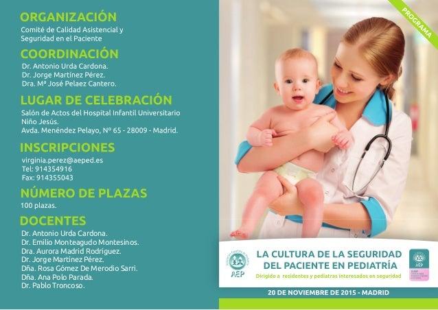 Dr. Antonio Urda Cardona. Dr. Emilio Monteagudo Montesinos. Dra. Aurora Madrid Rodríguez. Dr. Jorge Martínez Pérez. Dña. R...