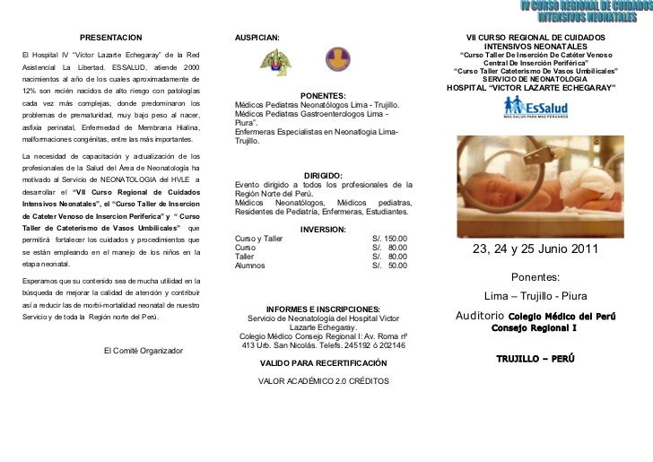 PRESENTACION                             AUSPICIAN:                                               VII CURSO REGIONAL DE CU...