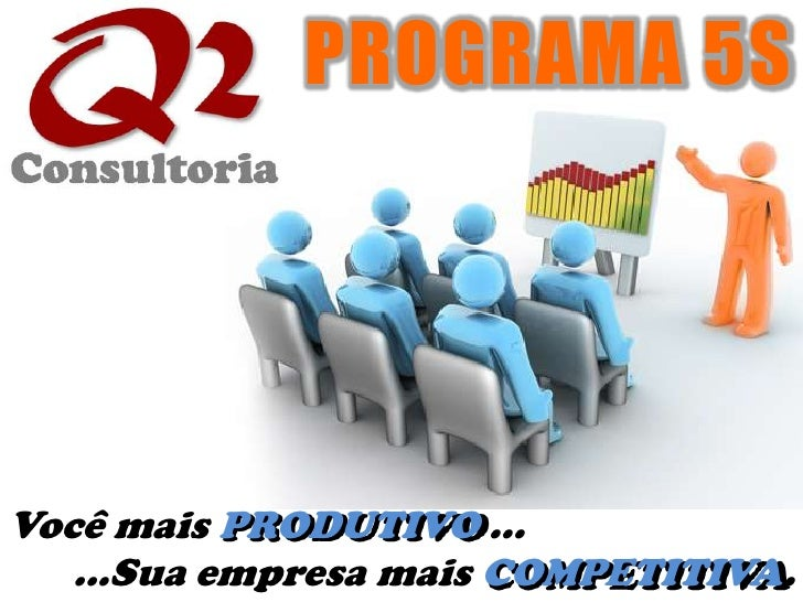 PROGRAMA 5S<br />Você mais PRODUTIVO ... <br />...Sua empresa mais COMPETITIVA.<br />