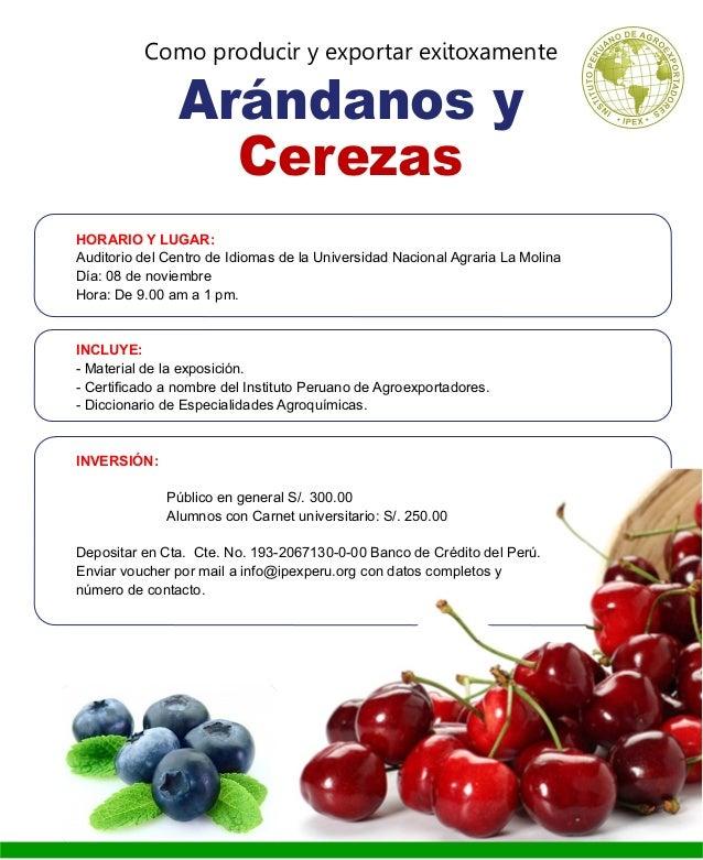 Programa Arandano y Cereza 2014 Slide 3