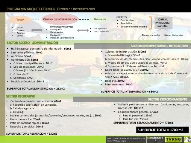 Programa arquitect nico completo for Programa arquitectonico biblioteca