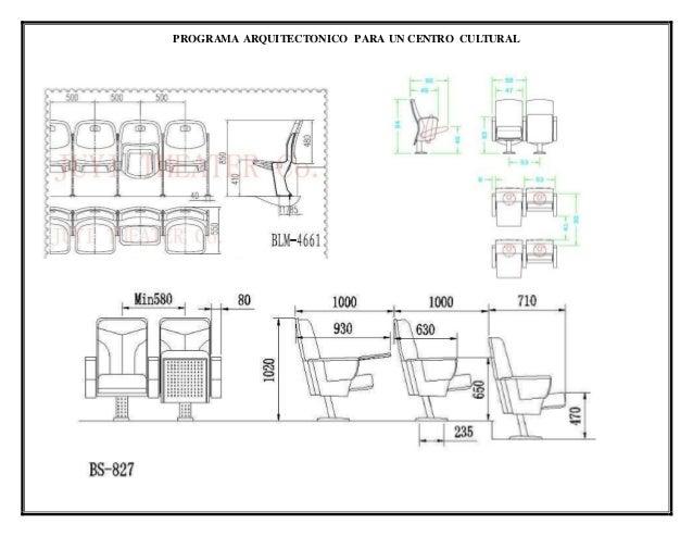 Programa arquitectonico auditorio for Proyecto arquitectonico pdf