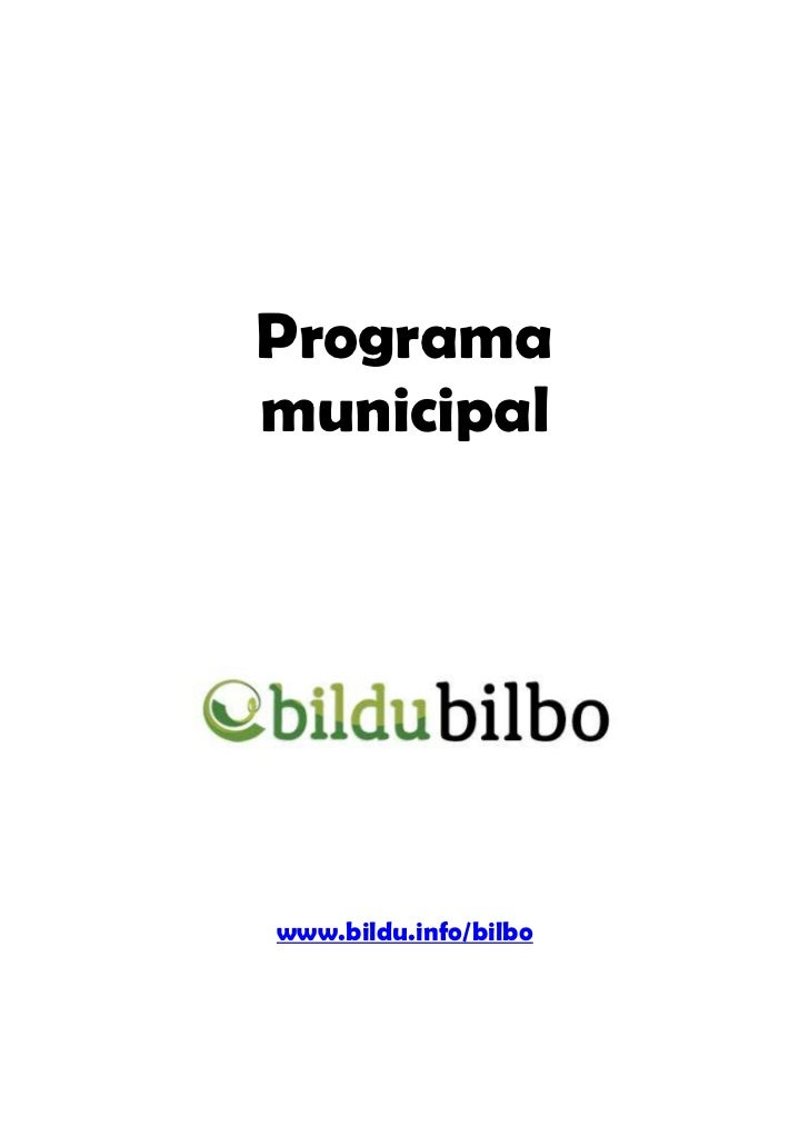 Programamunicipalwww.bildu.info/bilbo