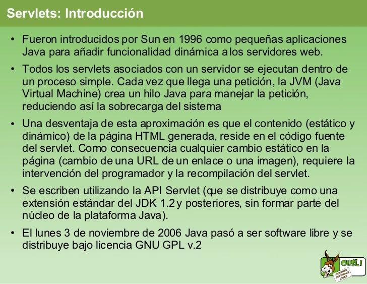 Programación web con JSP Slide 2
