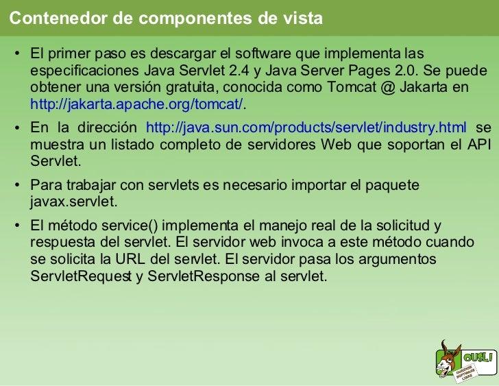 Programación web con JSP Slide 3