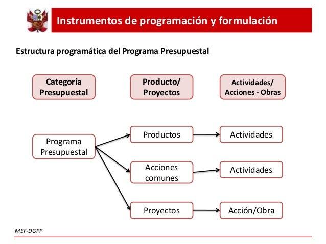 Programación Y Formulación Anual Del Presupuesto Del Sector