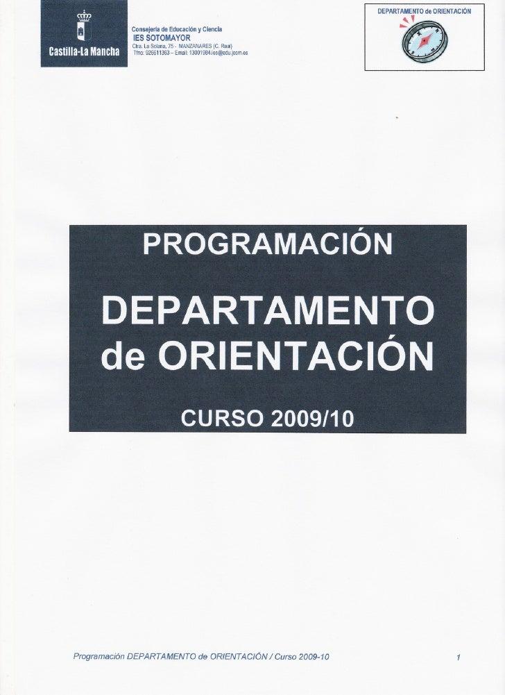 DEPARTAMENTO ORIENTACiÓN                                                                              de               Con...