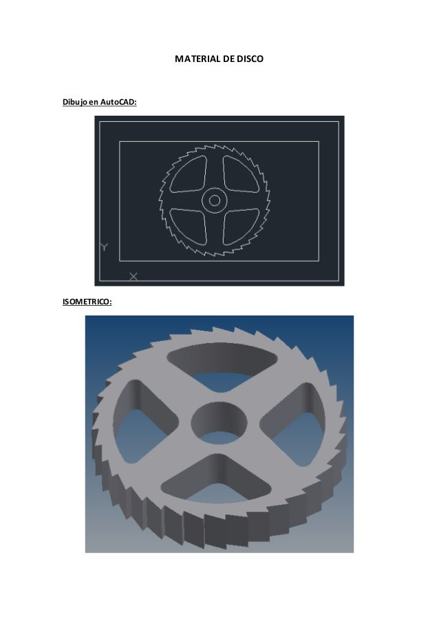 Programacion cnc material de disco Slide 2