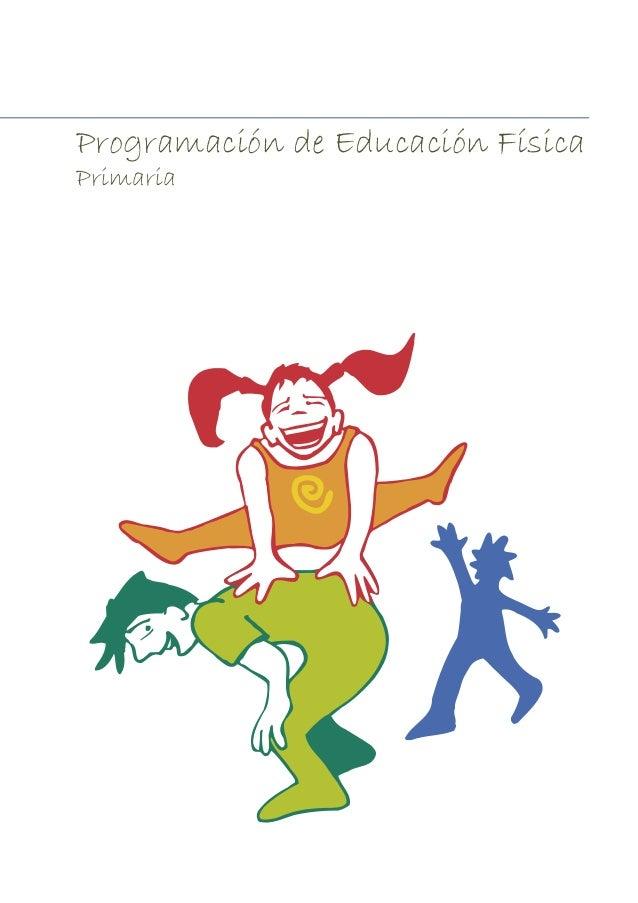 Programación de Educación Física  Primaria