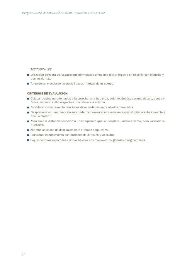 Programación de Educación Física. Primaria. Primer ciclo  SESIÓN  36  06  OBJETIVO  Mejorar la percepción, organización y ...