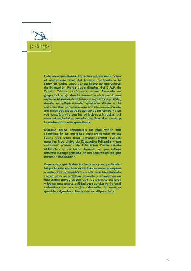 Programación de Educación Física. Primaria. Primer ciclo  7  índice  primer ciclo  TEMPORALIZACIÓN ..........................