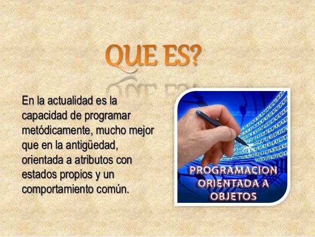 Es una estructura de evolución con conceptos básicos, la cual divide un programa en pequeñas unidades lógicas.