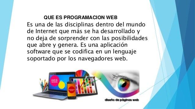Programacion web Slide 3