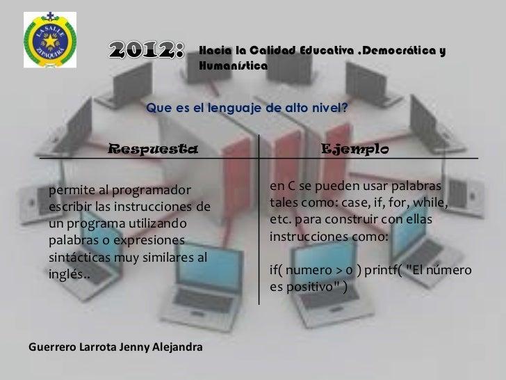 Programacion web introduccion Slide 3