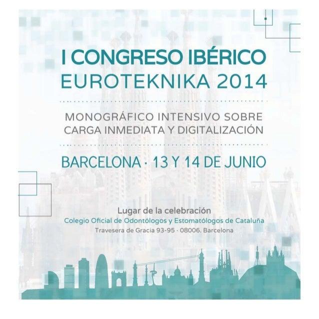 Programa congreso ibérico etk