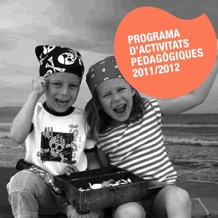 Programa d'Activitats Pedagògiques de l'MMB 2011/2012