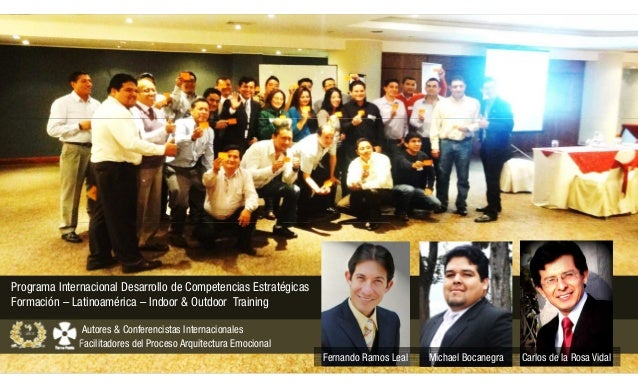 Programa Internacional Desarrollo de Competencias Estratégicas Formación – Latinoamérica – Indoor & Outdoor Training Autor...