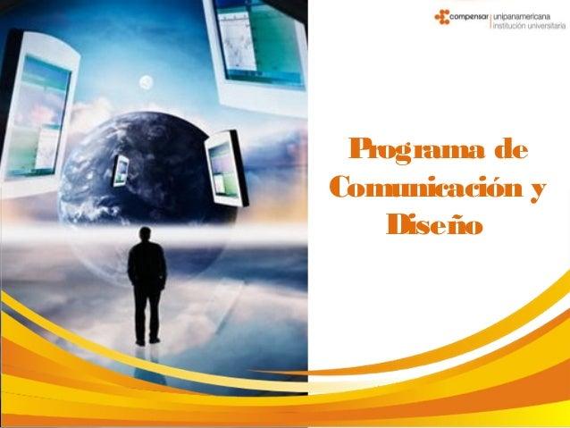 Programa de Comunicación y Diseño