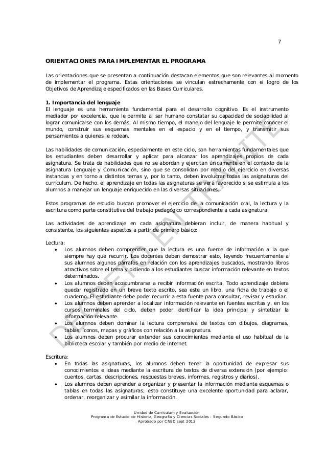 7ORIENTACIONES PARA IMPLEMENTAR EL PROGRAMALas orientaciones que se presentan a continuación destacan elementos que son re...