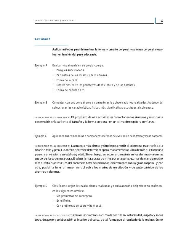 Programa de estudio 8° básico educación física