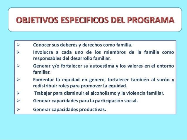 Programa de familias saludables for Concepto de familia pdf