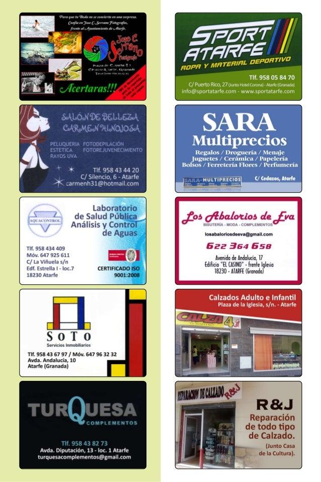 Programa de Fiestas de Sierra Elvira 2013 (Atarfe)