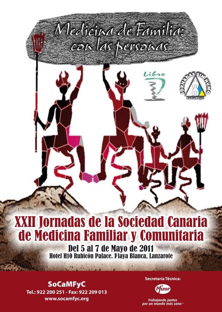 XXII JORNADAS de la SOCIEDAD CANARIA de MEDICINA de FAMILIA y COMUNITARIA                                       Cabildo In...