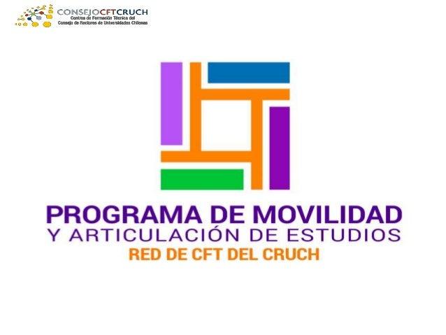 Programa de movilidad y articulación de estudios de alumnos de los Centros de Formación Técnica acreditados, perteneciente...
