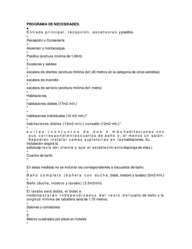Programa de necesidades - Programa para amueblar casa ...
