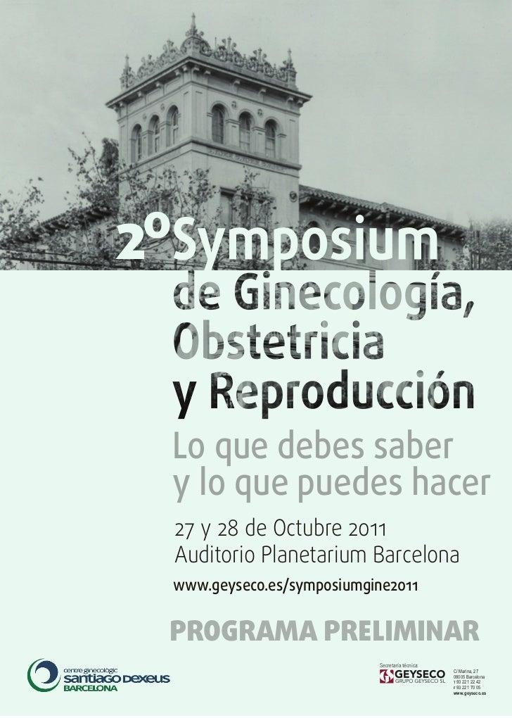 2º     Lo que debes saber     y lo que puedes hacer     27 y 28 de Octubre 2011     Auditorio Planetarium Barcelona     ww...