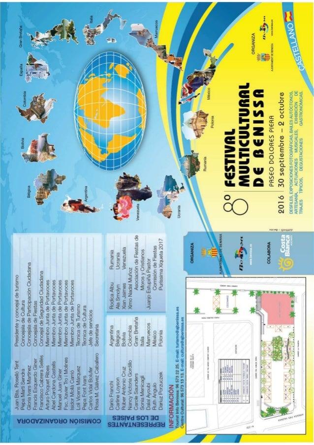Festival Multicultural programaicón en castellano