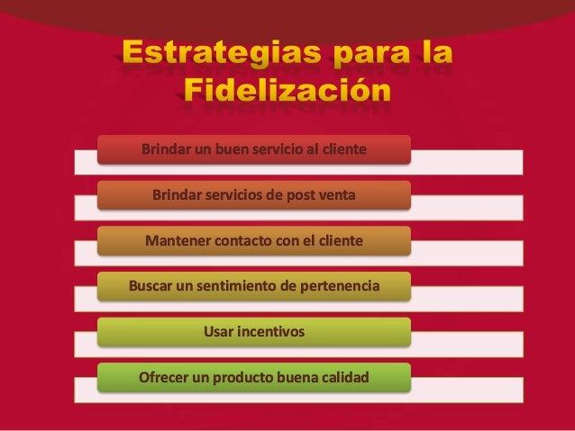 Plan De Fidelizacion De Clientes Ppt