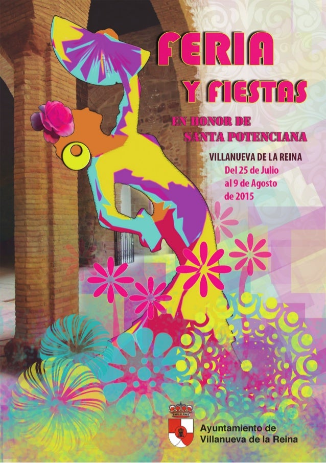 Programa Feria Y Fiestas En Honor De Santa Potenciana 2015