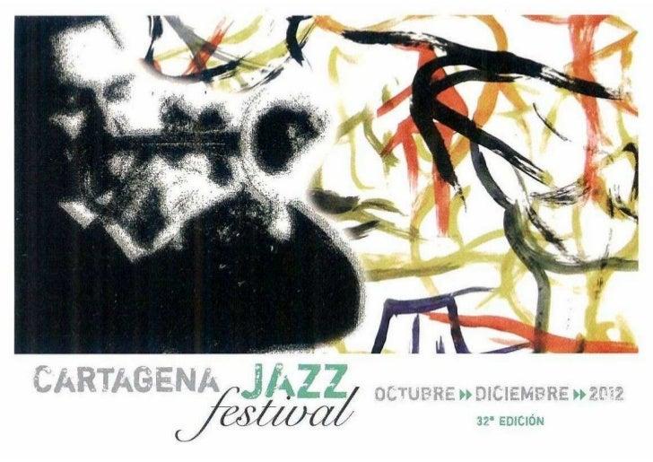 Programa Festival de Jazz CARTAGENA2012