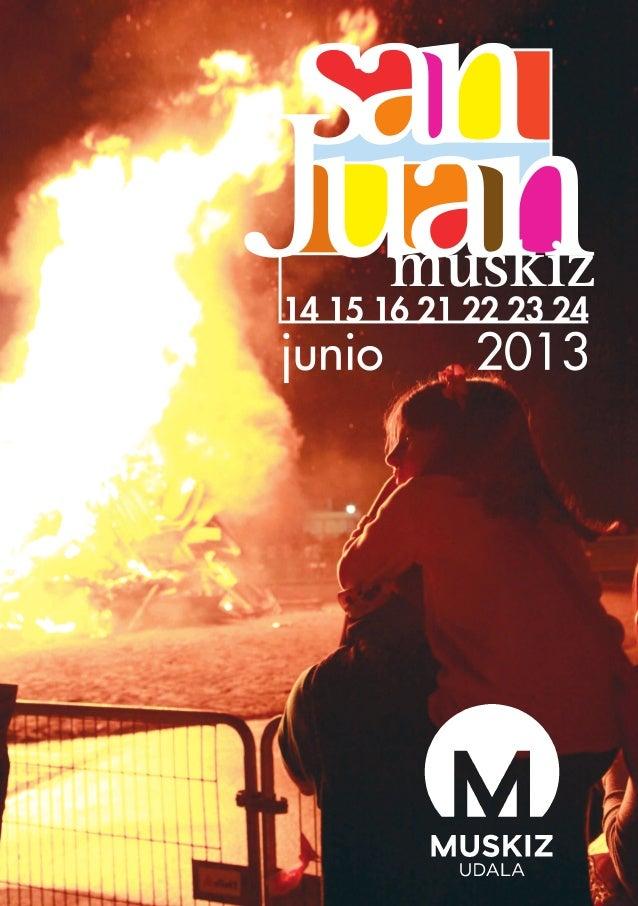 Programa de fiestas de Muskiz 2013