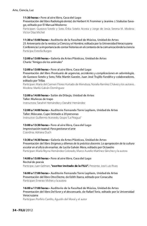 Programa filu2012