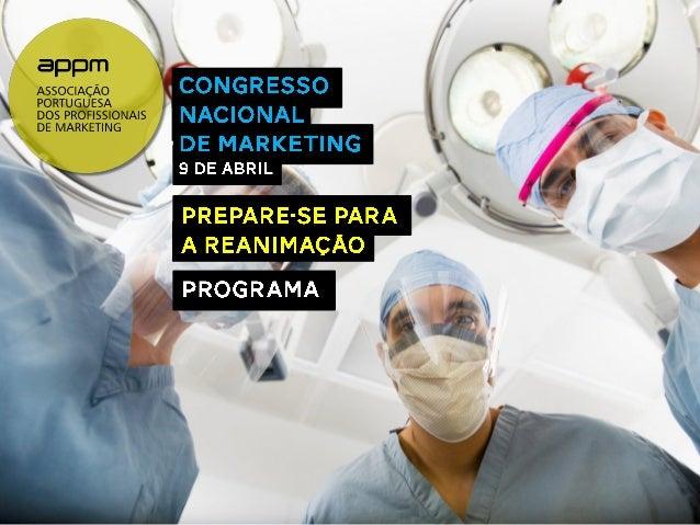 Programa Final Congresso Nacional de Marketing APPM