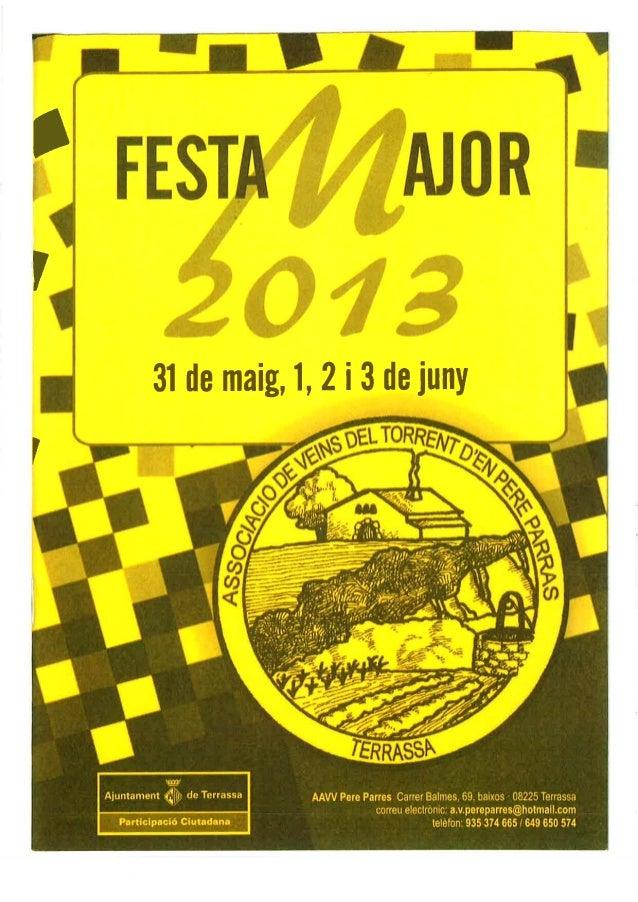 Festa major del Torrent d'en Pere Parres