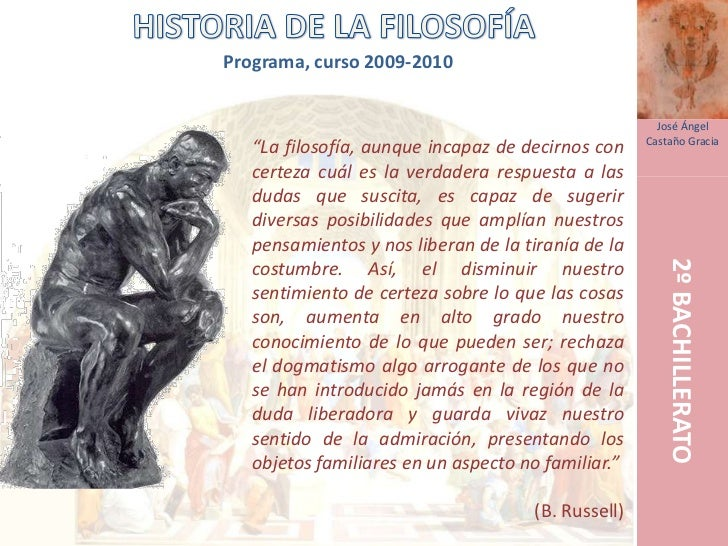 Programa, curso 2009-2010                                                         José Ángel                              ...