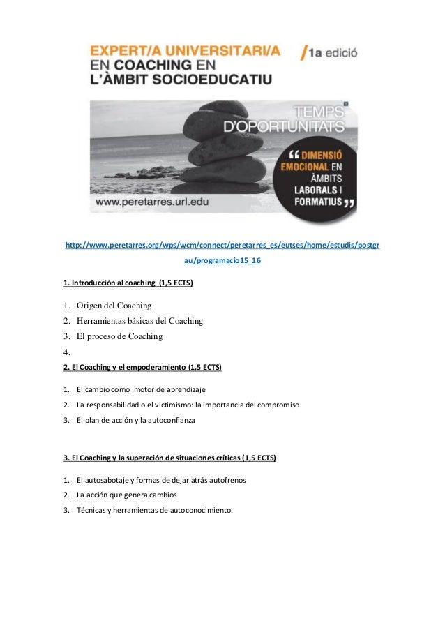 http://www.peretarres.org/wps/wcm/connect/peretarres_es/eutses/home/estudis/postgr au/programacio15_16 1. Introducción al ...