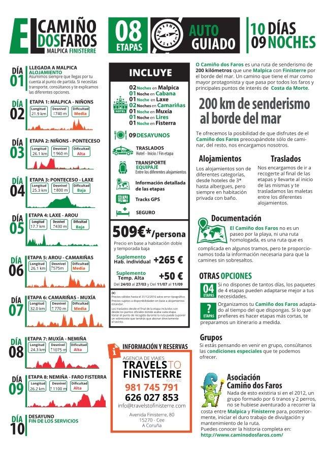 #Senderismo y #Trekking en Costa da Morte, #Galicia. O Camiño dos Faros 4 ó 8 etapas desde 1 persona todo el año