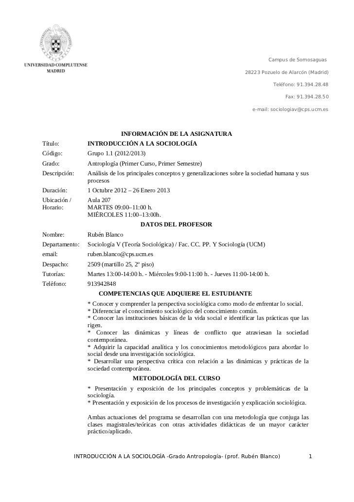 Campus de Somosaguas                                                                                 28223 Pozuelo de Alar...
