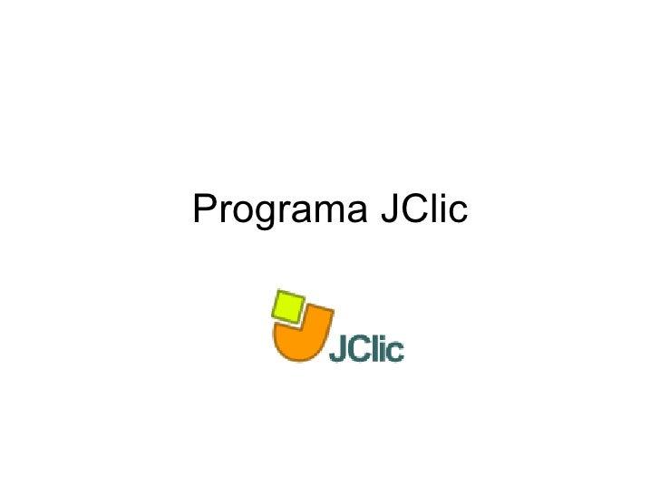 Programa JClic